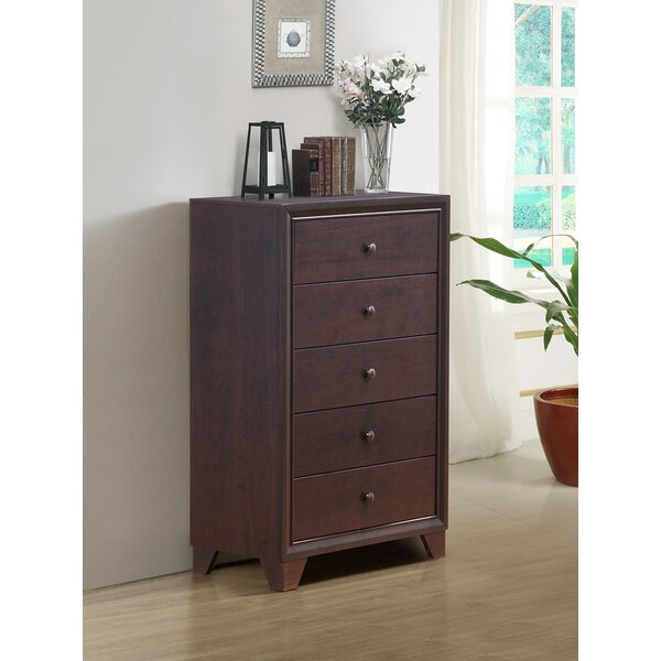 Angarano 5 Drawer Chest by Alcott Hill