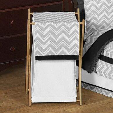 Zig Zag Laundry Hamper by Sweet Jojo Designs