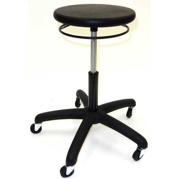 Height Adjustable Lab Stool by Symple Stuff