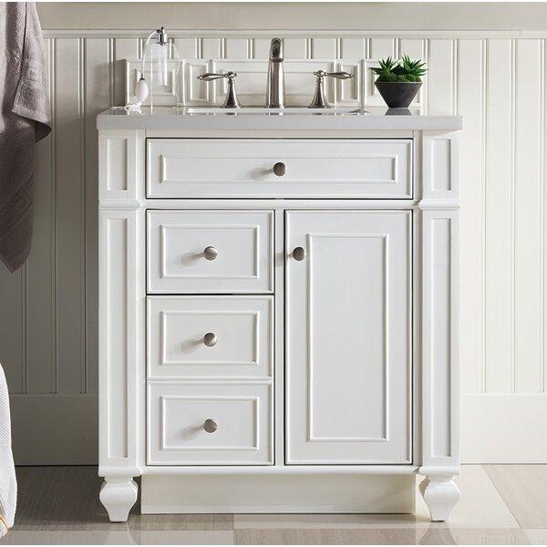 Lambrecht 30 Single Cottage White Quartz Bathroom