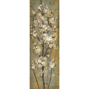 Almond Branch II by Silvia Vassileva Painting Print by Charlton Home