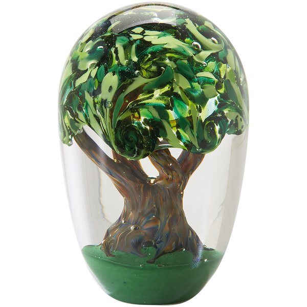 Raby Tree of Life Paperweight by Winston Porter