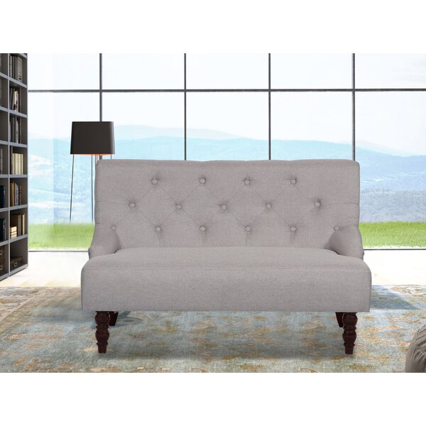 Price Comparisons For Elizabeth Loveseat by Winston Porter by Winston Porter