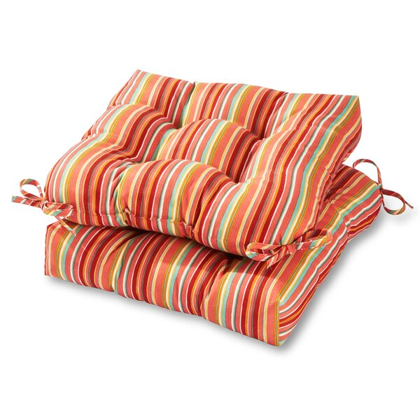 Indoor/Outdoor Dining Chair Cushion (Set of 2) by Greendale Home Fashions