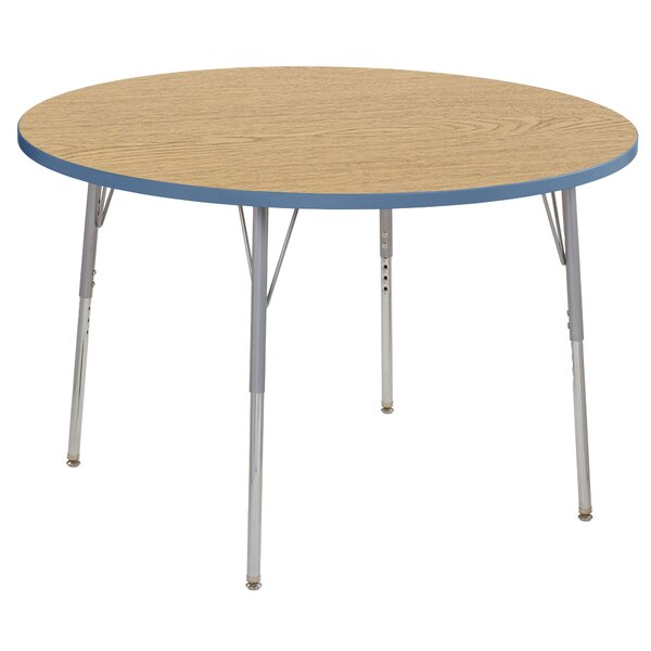 Contour Thermo-Fused Adjustable 48 Circular Activity Table by ECR4kids