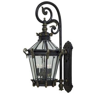 Inexpensive Stratford Hall 5-Light Outdoor Wall Lantern By Great Outdoors by Minka