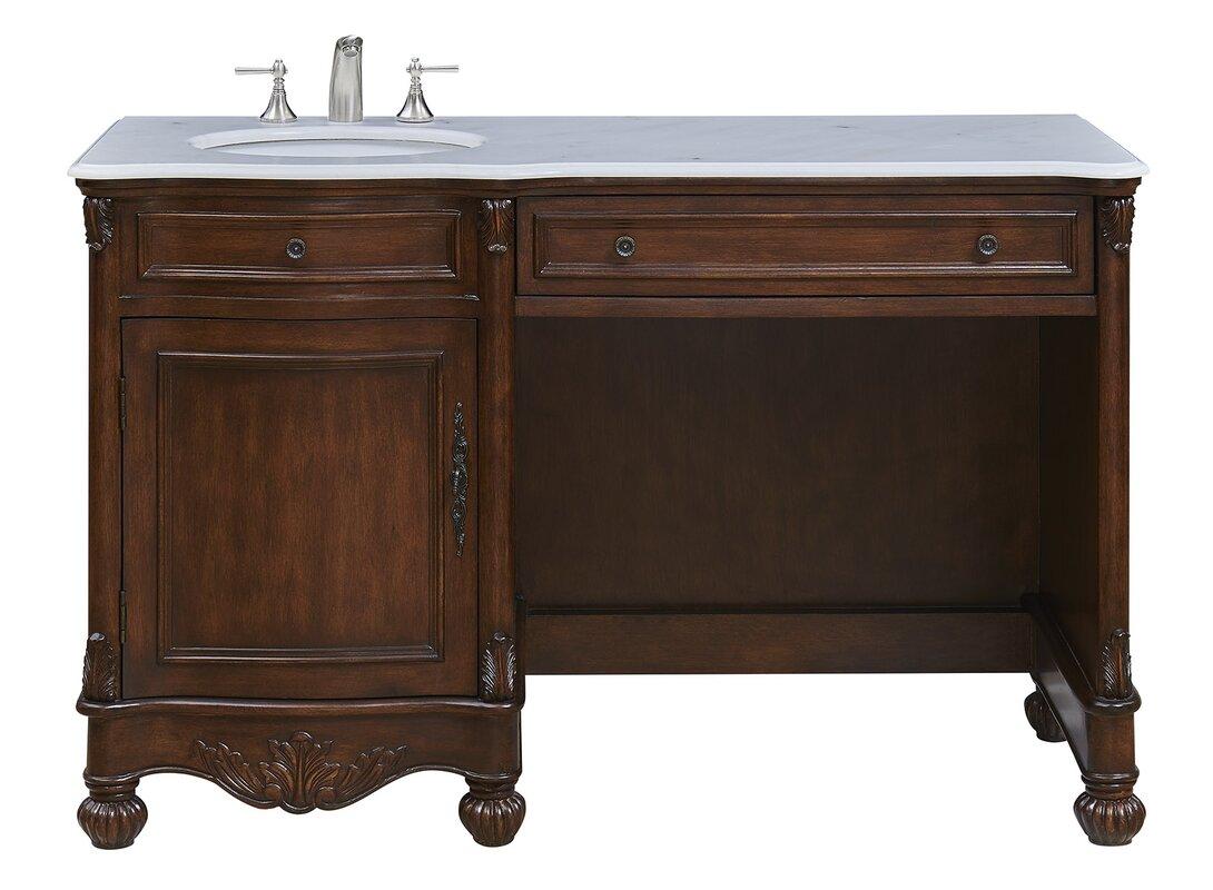"Astoria Grand Torrey 52"" Single Bathroom Wood Base Vanity"
