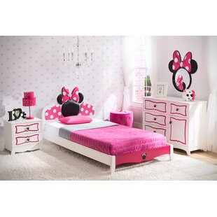 Best Deals Disney Minnie Mouse Panel 4 Piece Bedroom Set By Delta Children
