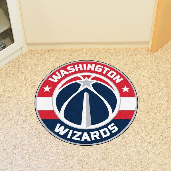 NBA Washington Wizards Roundel Mat by FANMATS