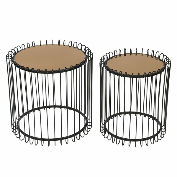 Lanclos Decorative Round 2 Piece Nesting Tables By Wrought Studio