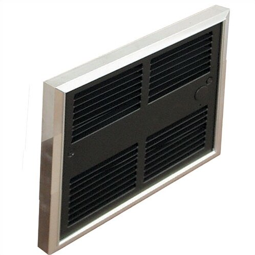 Low Profile 6,826 BTU Wall Insert Electric Fan Heater with Wall Box by TPI