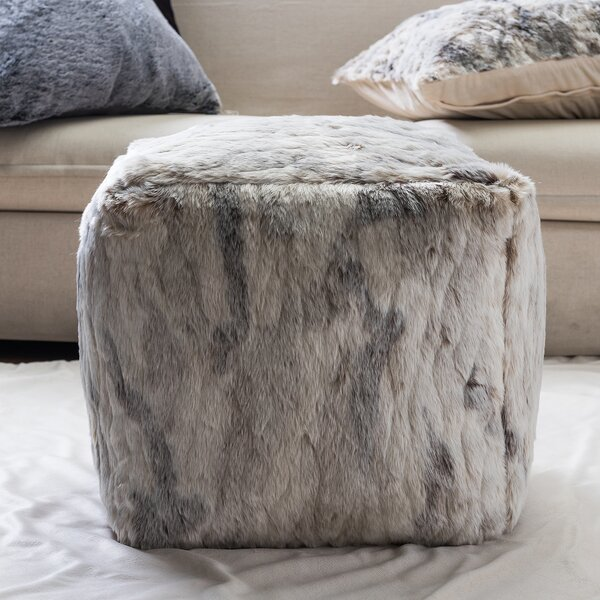 Brindle Pouf by Foundry Select