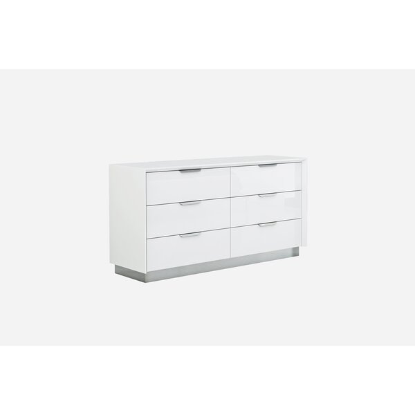 Aspinwall 6 Drawer Double Dresser by Orren Ellis