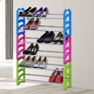 6-Tier Stackable Shoe Rack By Rebrilliant