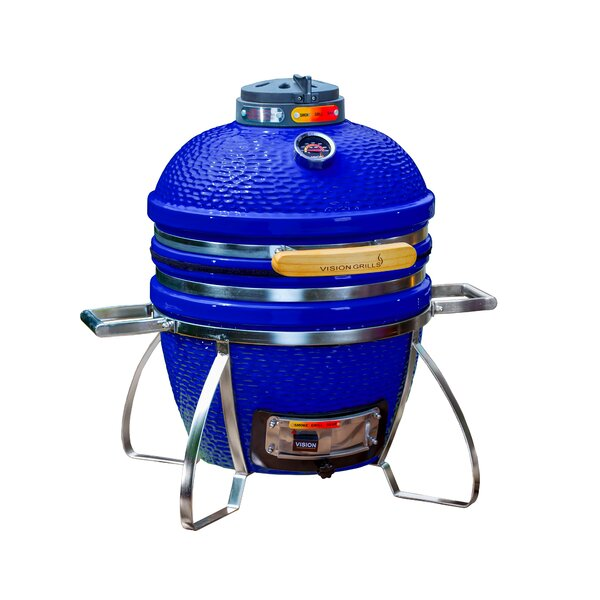 13.5 Cadet Built-In/Kamado Charcoal Grill by Vision Grills