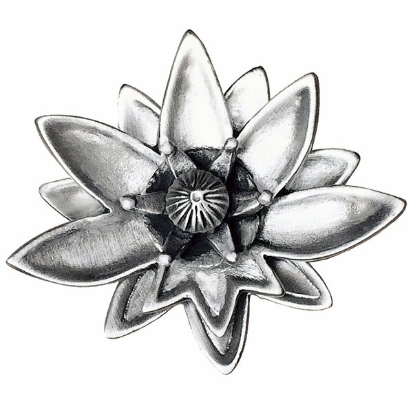 Lotus Flower Novelty Knob by D'Artefax