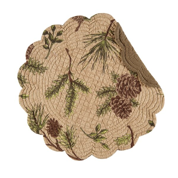 Woodland Retreat 17 Placemat (Set of 6) by C&F Home