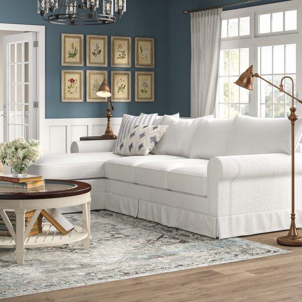 Jameson Upholstered Sleeper Sectional By Birch Lane™ Heritage