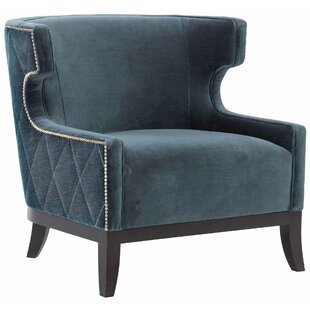 Emma Wingback Chair By Bernhardt