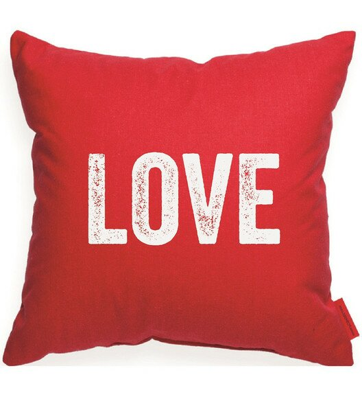 Expressive Love Decorative Throw Pillow by Posh365