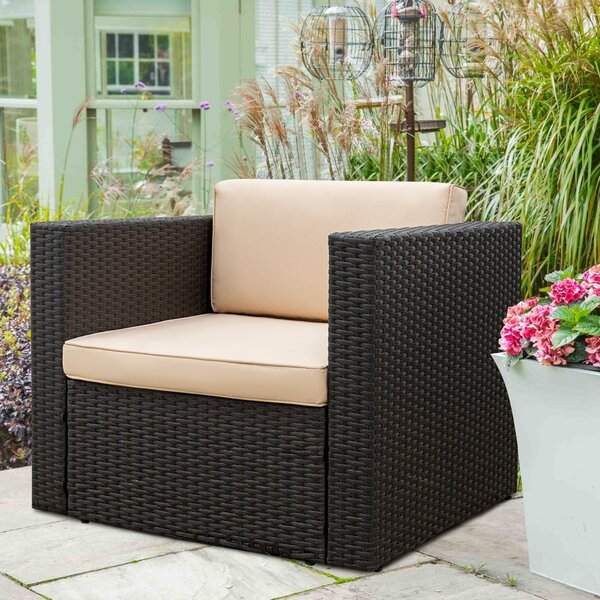 Danby Patio Chair with Cushions by Brayden Studio