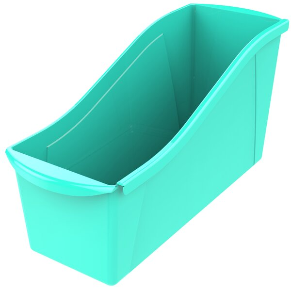 Large Book Stackable Cubby Bin Set Of 6 By Storex.
