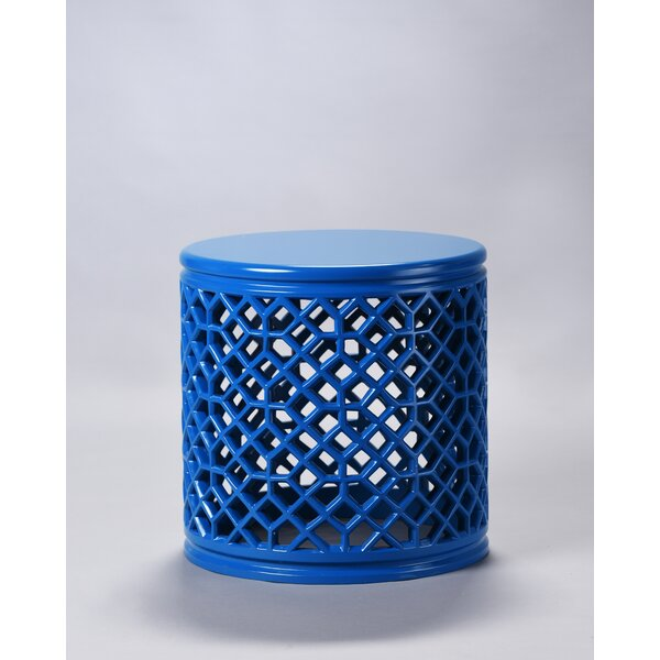 Begley Jali End Table by Bungalow Rose