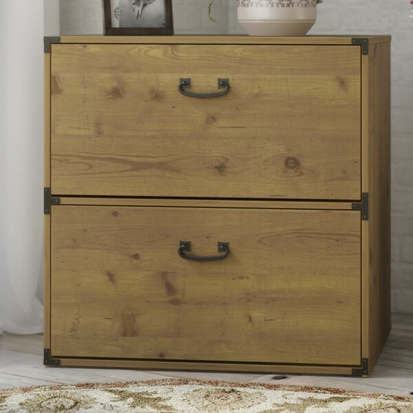 Ironworks 2-Drawer Lateral Filing Cabinet