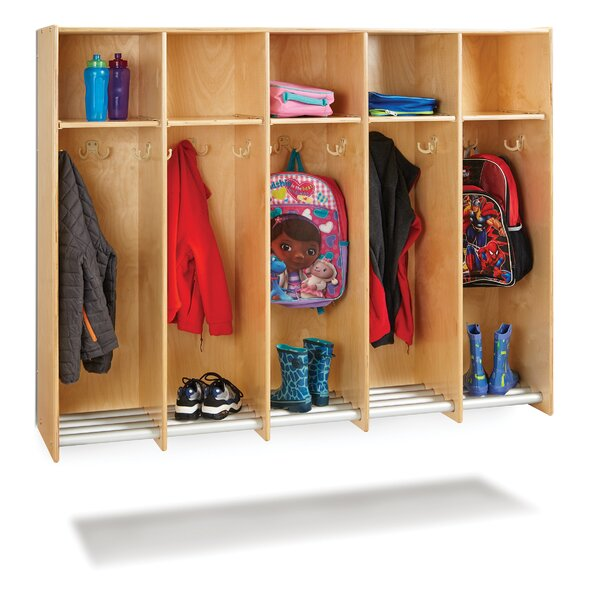Hanging Locker 5 Compartment Cubby by Jonti-Craft