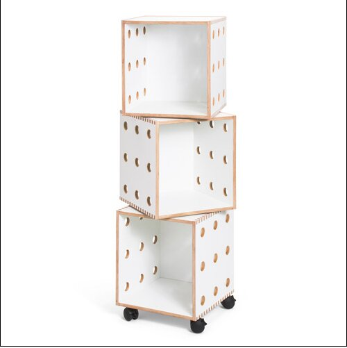 Perf Cube Unit Bookcase By Offi