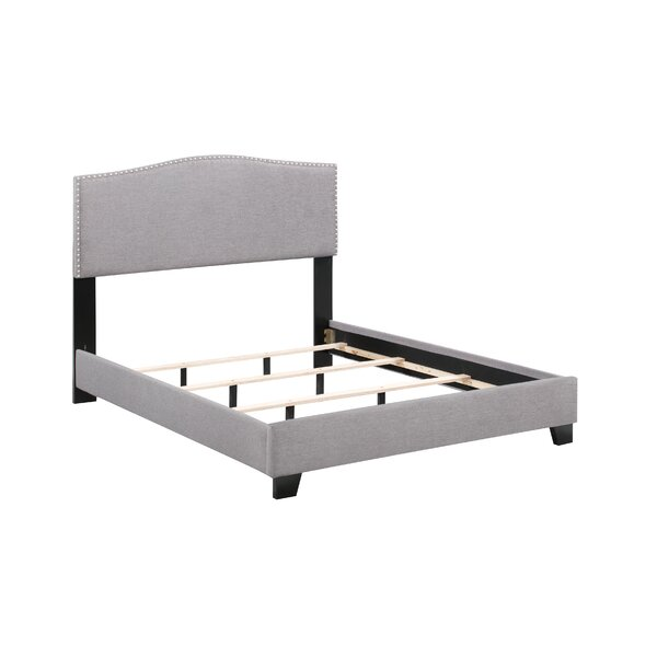 Linzy Upholstered Standard Bed by Charlton Home