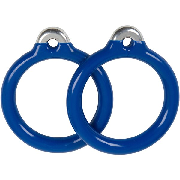 Commercial Coated Trapeze Rings (Set of 2) (Set of 2) by Swing Set Stuff
