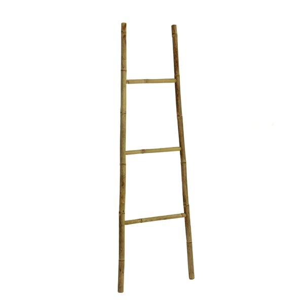 Bamboo Bath Towel 5 ft Decorative Ladder by Mistana