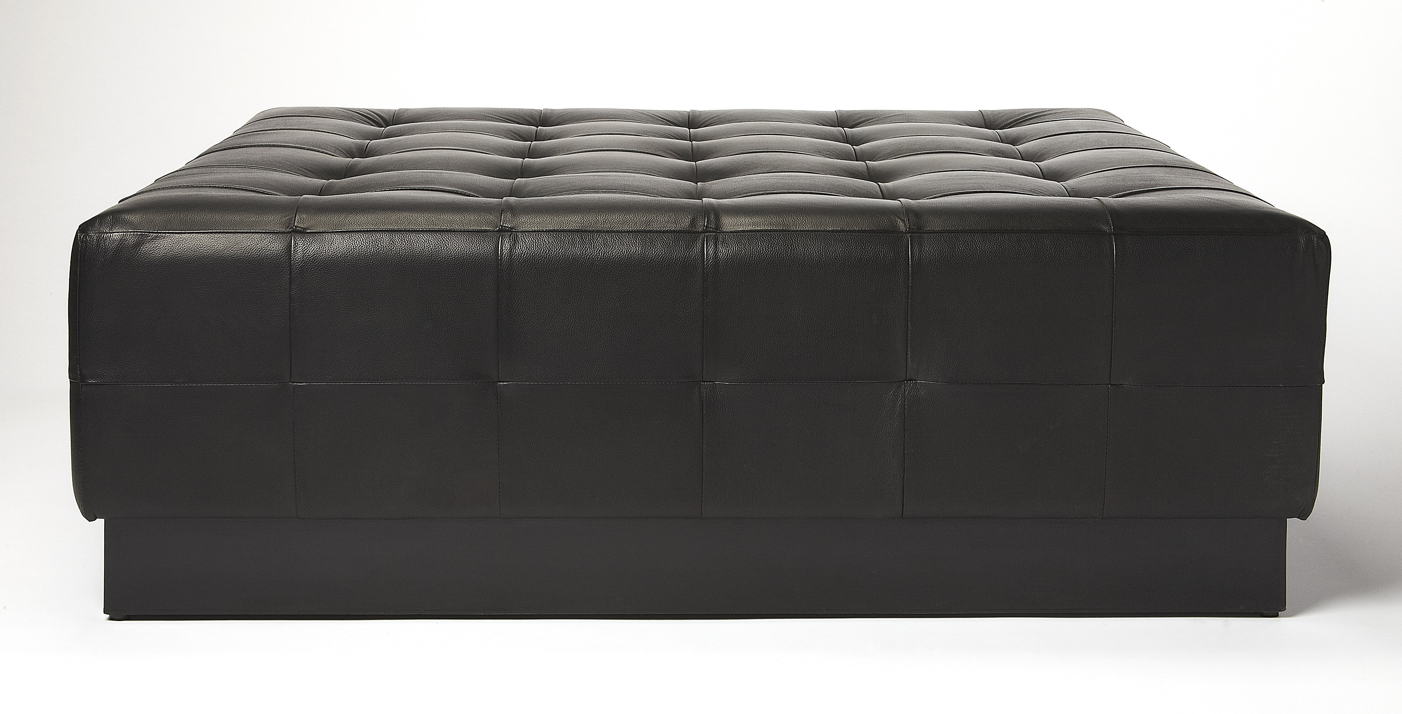 Remarkable Canora Grey Doris Leather Tufted Cocktail Ottoman Wayfair Cjindustries Chair Design For Home Cjindustriesco