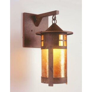 Inexpensive Pasadena 1-Light Outdoor Wall Lantern By Steel Partners