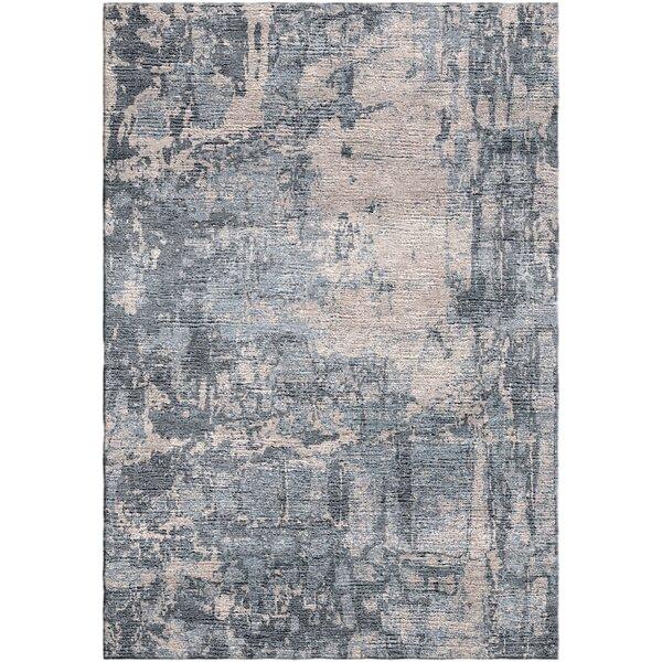Ashford Handloom Gray/Beige Area Rug by Ivy Bronx
