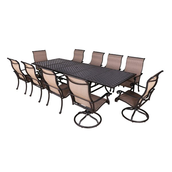 Kempf 11 Piece Dining Set by Darby Home Co