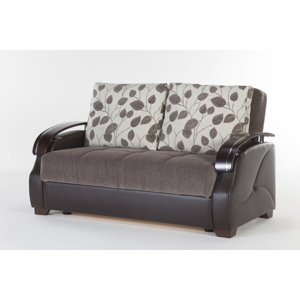 Last Trendy Malena Armoni Sofa Bed by Latitude Run by Latitude Run