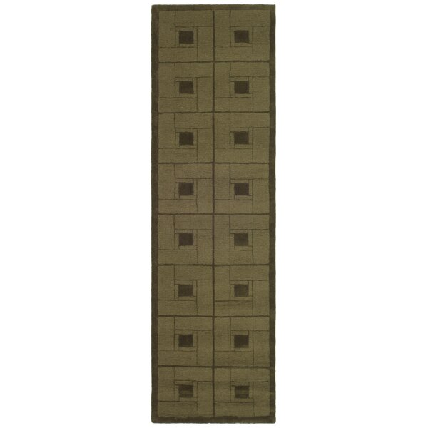 Hand-Woven Brown Area Rug by Martha Stewart Rugs