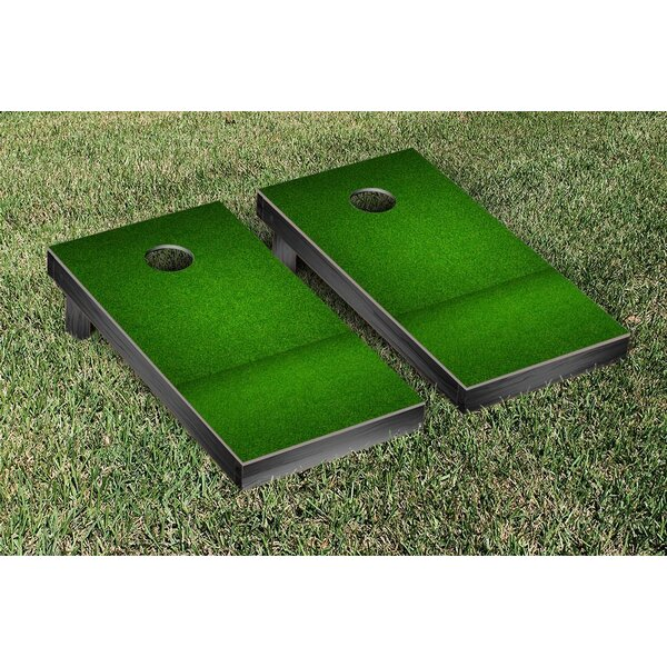 Grass Themed Cornhole Game Set by Victory Tailgate