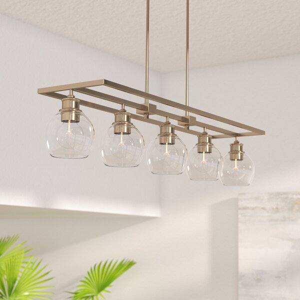 Maria 5-Light Kitchen Island Pendant by Langley Street