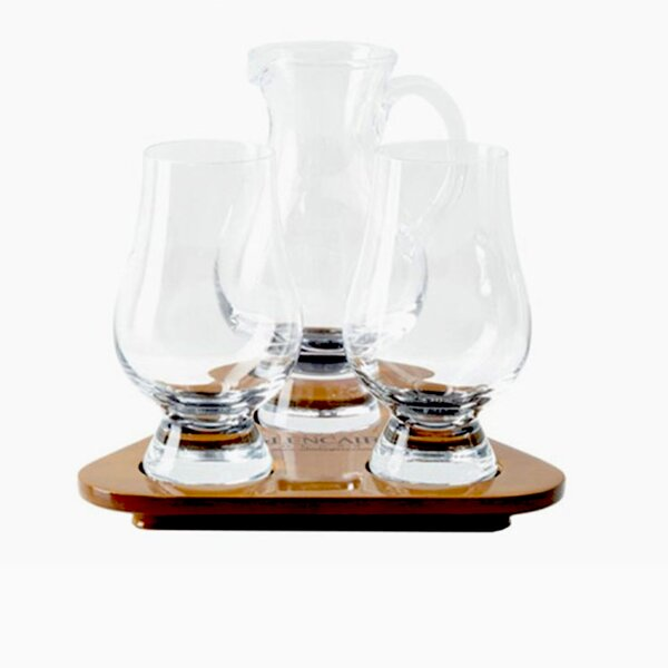 Keiper Scotch and Whiskey 4 Piece Beverage Serving Set by Darby Home Co
