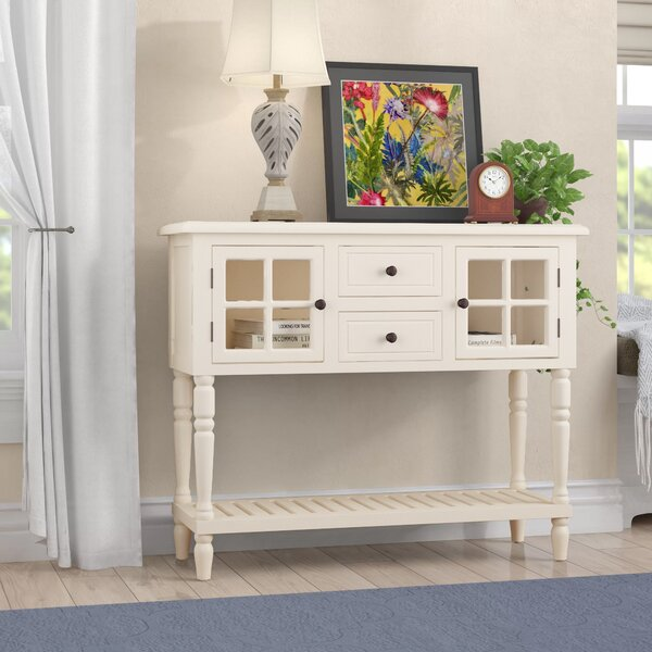 Charlton Home White Console Tables