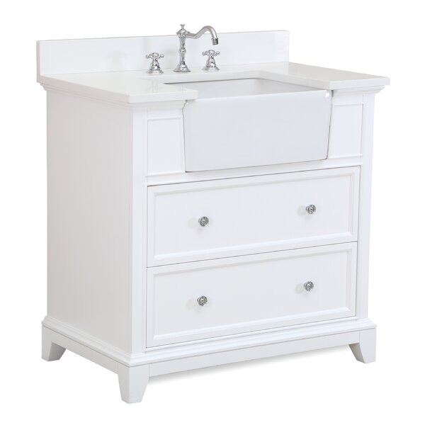 Sophie 36 Single Bathroom Vanity Set by Kitchen Bath Collection