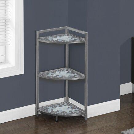 Corner Unit Bookcase by Monarch Specialties Inc.
