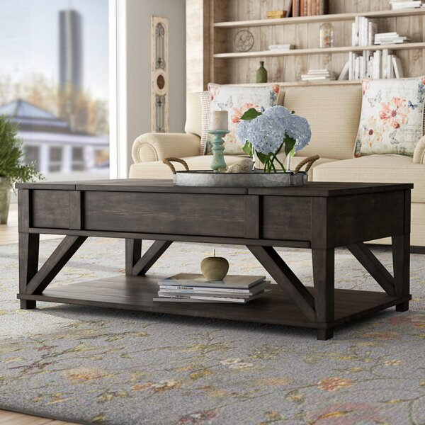 Clark Fork Lift Top Coffee Table by August Grove