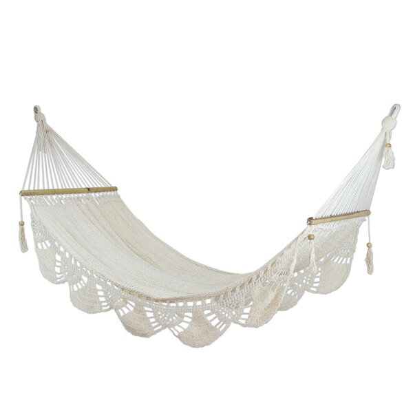 Vosburg Montelimar Sands Cotton Tree Hammock by Ophelia & Co.