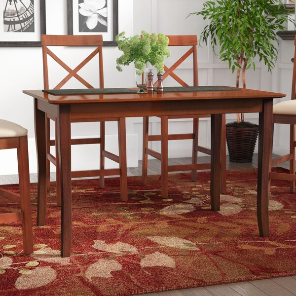 Shuman Solid Wood Dining Table by Red Barrel Studio