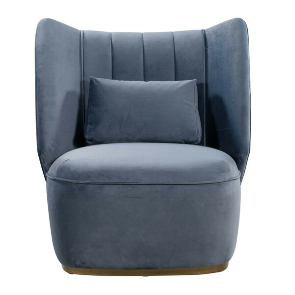 Emile Lounge Chair by Everly Quinn
