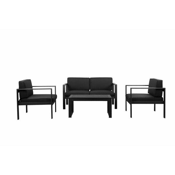 Gomer 4 Piece Sofa Set by Orren Ellis